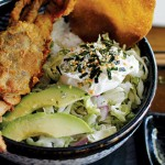 SOFT SERVE  Shell Shock's crab rice bowl offers some delicious flavor pairings. Photograph by Ngoc Ngo
