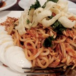 KILLER PAD: Nan Ji Toke offers a delicious pairing of noodles and coconut curry chicken.