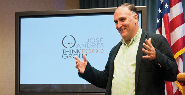 Chef Jose Andres Offers Lessons From Beyond the Kitchen at ICC