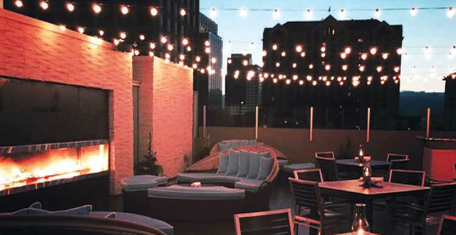 Scott's Seafood Revamped its Sixth-Story Patio as a Late-Night Lounge