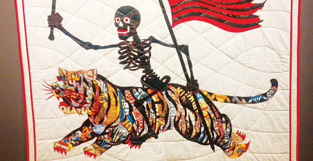 'Found/Made' Exhibit Shows Many Innovative Works of Quilt Art
