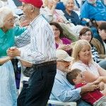 SUMMER LOVING: Everyone from the young, to the young at heart, can enjoy the timeless tunes performed at this year's Summer Pops outdoor concert series at San Jose State University. Phot by Fontejon Photography