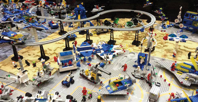 Bricks by the Bay Unites Lego Fans in Santa Clara