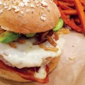 WELL DONE: Burgers at MOOYAH in Los Gatos come with a heap of free toppings.