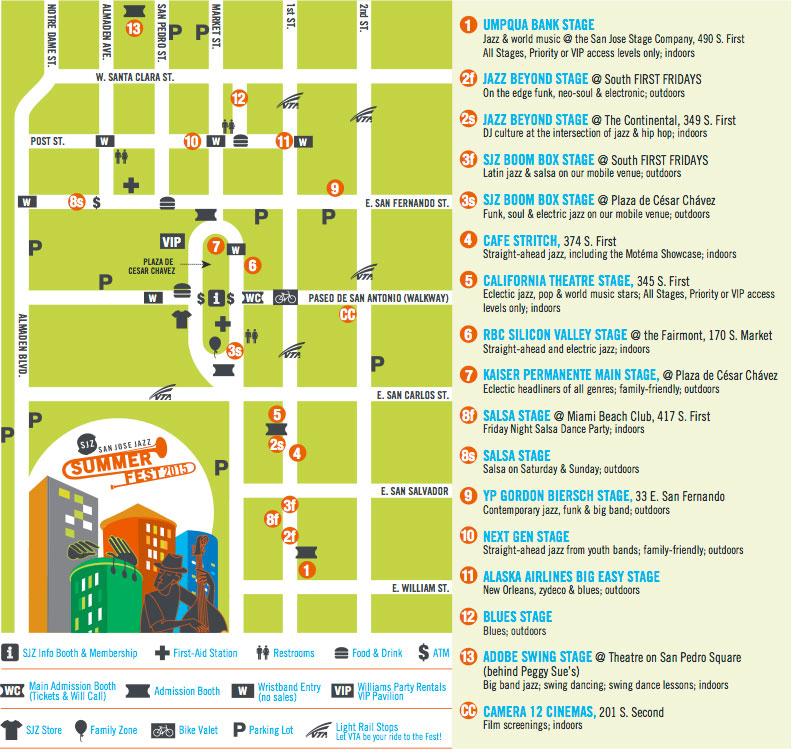 san-jose-jazz-summer-fest-map