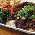 BOXING OUT: Fast and fresh Korean food hits downtown San Jose as Hom offers dishes like braised short ribs. Photograph by Stephen Layton