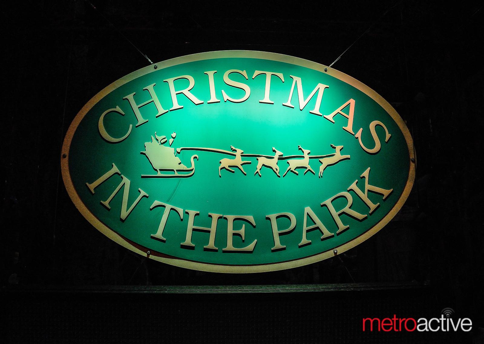 ChristmasInTheParkSign