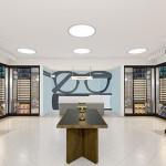 Rendering of the new Warby Parker store opening at Santana Row.