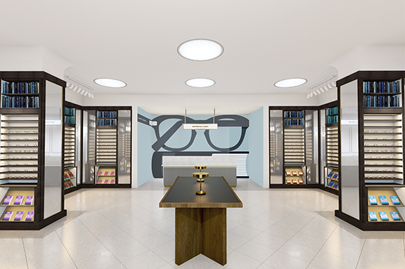 Warby Parker Opens Store at Santana Row
