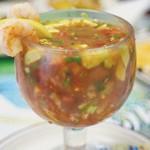 A REAL CATCH: Govea's Coctel de Camaron sets a standard for shrimp cocktails.