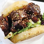 BUN AND GAMES: Koja Kitchen's rice cake 'buns' are a culinary innovation.