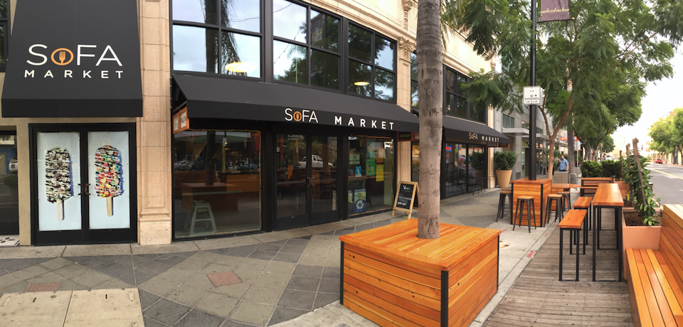 SoFA Market, Downtown San Jose