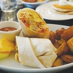 GOING DEEP: The Well Done Burrito is a tasty option that can be ordered plain or deep fried.