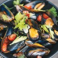 MUSSEL UP: Known for its burgers and bar menu, Eureka! also offers a variety of colorful new American dishes.