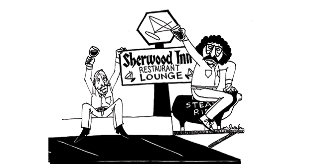 A Truly Happy Hour at Sherwood Inn