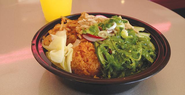 Avocado Runs Free at Downtown Poki