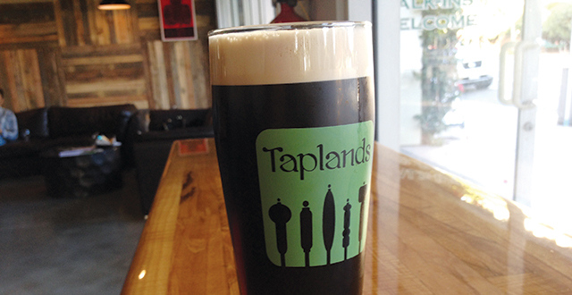 Taplands Has a Passion for Suds