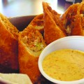 Cajun egg rolls are among the more unusual—and tasty—options on the menu at Poorboy's. (Photo by Josh Koehn)