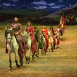 DOTHRAKI DANCE: 'Odysseo,' tells the tale of human-horse interaction across the ages.