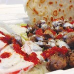 Agha's Gyro Express serves ridiculously tasty  and affordable lamb over rice plates.