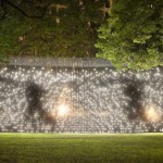 The Knight Foundation has sponsored many projects in the past, including Jim Campbell's LED display in the San Jose Museum of Art.   (Photo by James Ewing, Courtesy of the Madison Square Park Conservancy.)