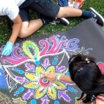 Chalk artist of every level are invited to join the festival, proceeds benefit K-12 arts programs in local schools.