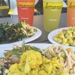 Lemonade's healthy menu features more than 50 options.