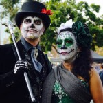 Guest are encouraged to dress up in traditional Dia de Los Muertos costumes. Photo Courtesy of Dia San Jose Facebook page.