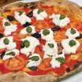 Mark us down for Il Fornaio's Burrata Pesto pizza.