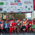 Participants are invited to dress up and run the course in holiday garb. Photo courtesy of santarunsv.com.