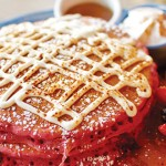 The Breakfast Club's version of Red Velvet Pancakes will change lives.