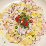 iTalico serves up a unique octopus carpaccio that wins points for texture.