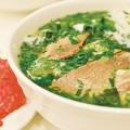 The handmade noodles are a house specialty that help capture the nuance of the broth.