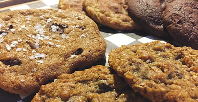 Delivering until 2:30am, Nox Cookie Bar  has become an after-hours favorite. Photo by Josh Koehn