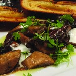 The warm-roasted forest mushrooms are not to be missed at British Bankers Club. (Photo by Avi Salem)