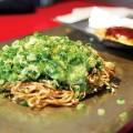 Everyday ingredients make for some tasty okonomiyaki, Osaka style.
