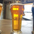 New bring-your-own-food brewery and taproom currently offers a blond ale, an IPA and a mocha porter.