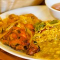 Everest Cuisine's lunch buffet offers a quality introduction to Nepalese fare.