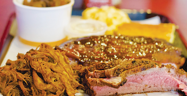 Tri-tip is one of many mouth-watering options at TAOB Pit Stop. Photo by John Dyke.