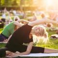 San Jose will host a massive outdoor yoga event Saturday at St. James Park. (Photo via Shutterstock)