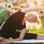San Jose will host a massive outdoor yoga event Saturday at St. James Park. (Photo via Shutterstock)