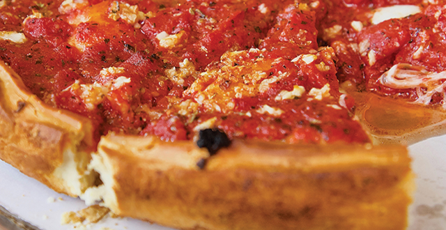 Nobody does Chicago deep dish quite like Patxi's. Photo by John Dyke