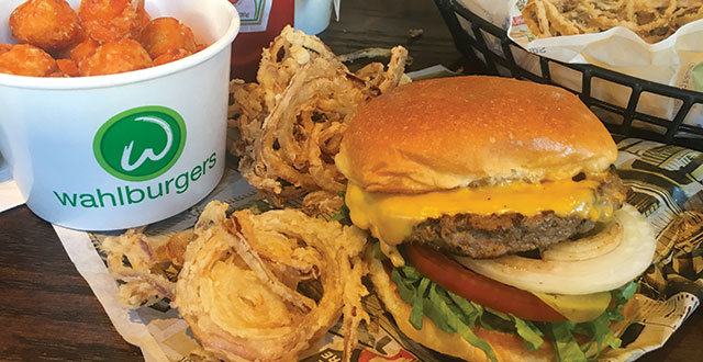 Wall to Wahlburgers in Palo Alto