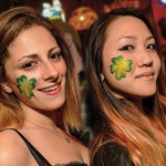 These lucky ladies show their St. Patty's Day spirit at Khartoum in Campbell. Photo by Greg Ramar
