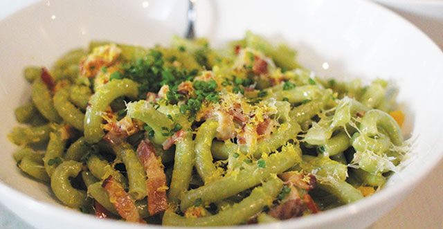 Saratoga's Pasta Armellino is Cultured Casual