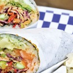 The Wrapped Fish in San Jose brings poke into the fold of burrito fusion. Photo by John Dyke