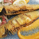 The deep-fried sardines are one of many top-notch seafood offerings at Taverna in Palo Alto. Photo by Laura Hamilton