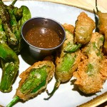 The dueling shishito peppers—blistered and deep fried—are a definite highlight of The Post's menu, but they aren't the best in the valley. Photo by Scott Carroll