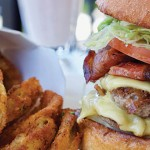 The Burger Lounge specializes in bare-bones, no-frills, massive burgers. Yummm... Photo by John Dyke