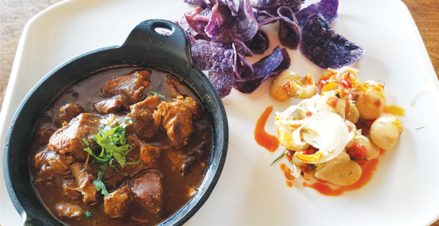 Sun of Wolf brings high-end Mexican fusion to California Avenue